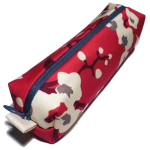 raspberry delight pencil case from alliebeans on etsy