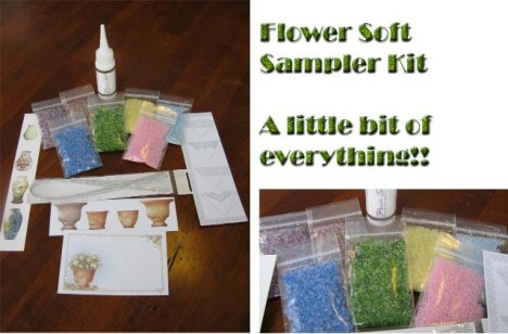 Flower Soft Sampler Kit @ Pez-A-Doodle