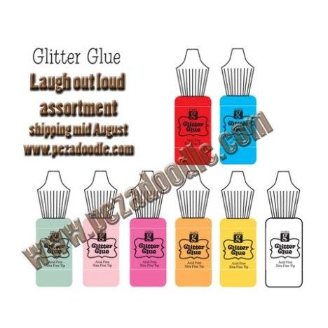 Glitter Glue - Laugh Out Loud Set