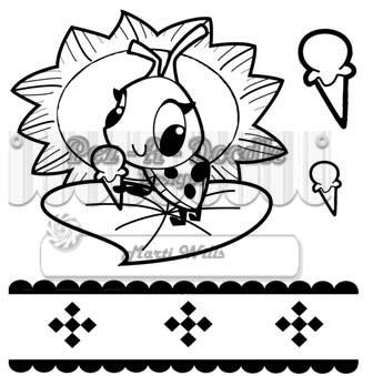 picnicin' ladybug full set sm