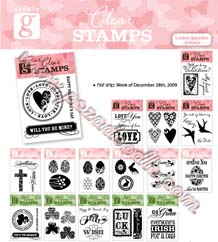 easter 2010 clear stamps
