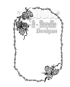pinecone oval digi small
